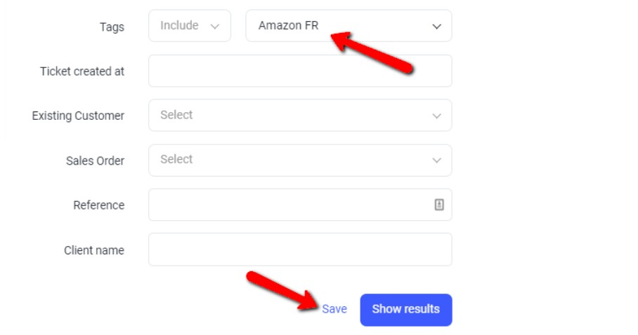 Enter support email address
