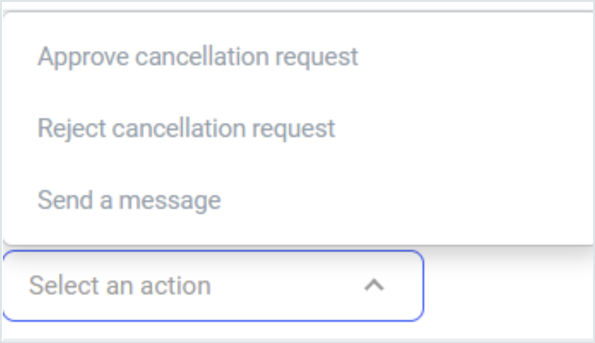 Cancellation and refund options with Full access